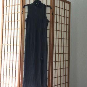 Forever 21 Gray Sleeveless Sweater Dress